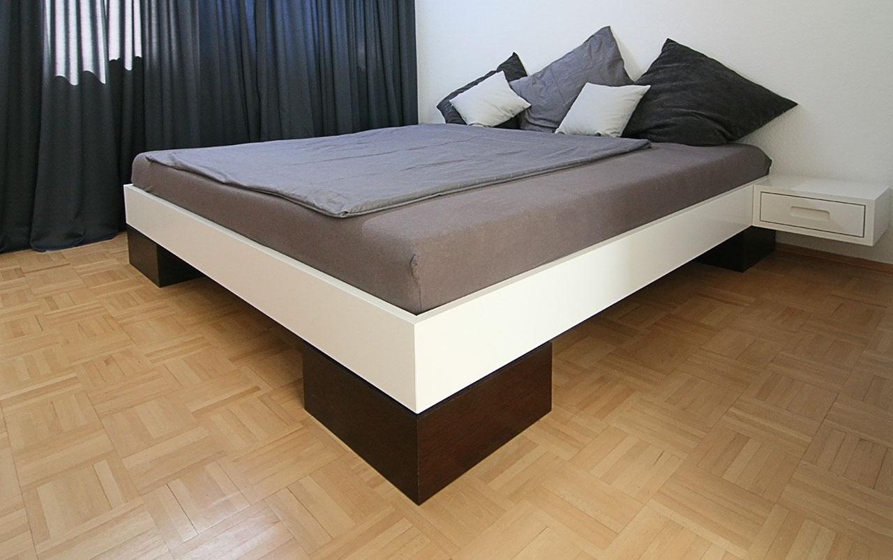 bett f r puristen schreinerei berghausen. Black Bedroom Furniture Sets. Home Design Ideas