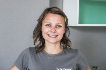 Agnieszka Florczyk - Schreinermeisterin - seit 2006 im Team