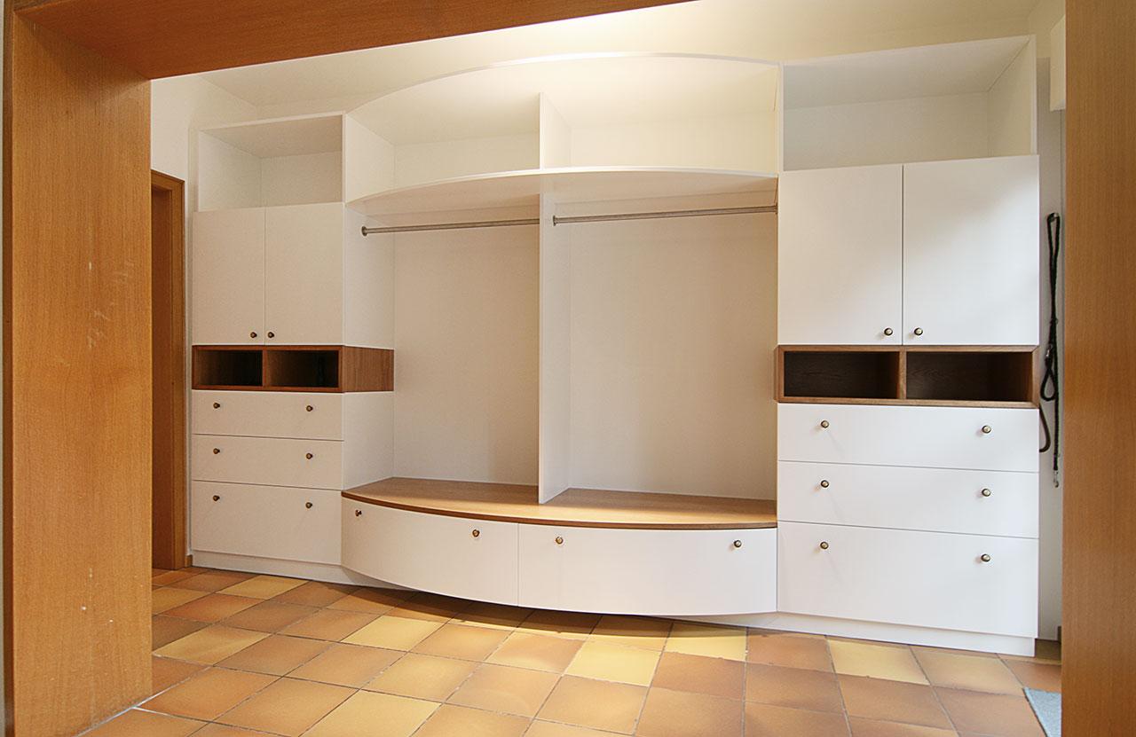 garderobe f r g ste und familie schreinerei berghausen. Black Bedroom Furniture Sets. Home Design Ideas