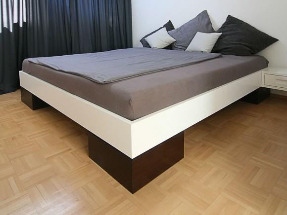 Bett für Puristen